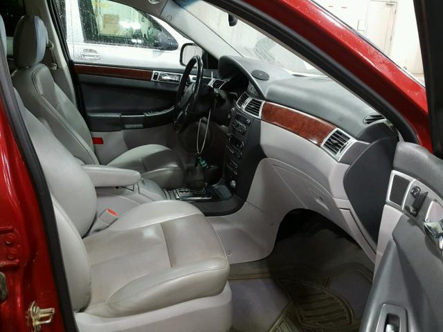 2A8GF68XX7R127879 - 2007 CHRYSLER PACIFICA T RED photo 5