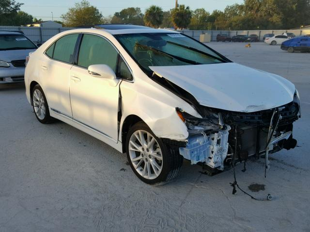 JTHBB1BA4A2014678 - 2010 LEXUS HS WHITE photo 1