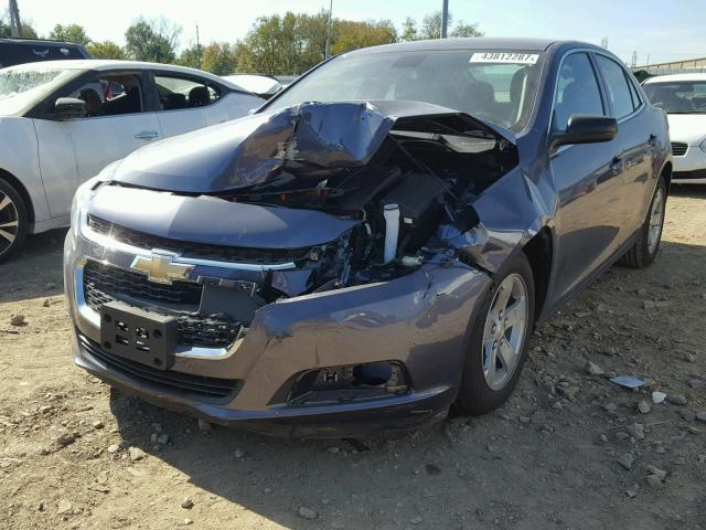 1G11B5SL1FF334457 - 2015 CHEVROLET MALIBU LS BLUE photo 2