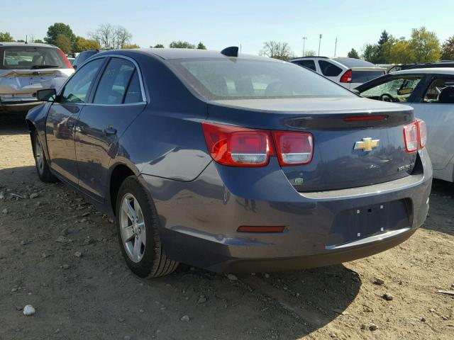 1G11B5SL1FF334457 - 2015 CHEVROLET MALIBU LS BLUE photo 3
