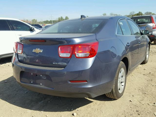 1G11B5SL1FF334457 - 2015 CHEVROLET MALIBU LS BLUE photo 4