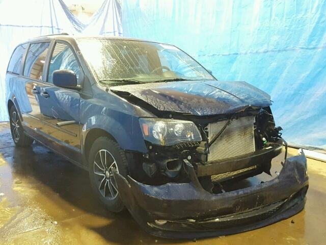 2C4RDGEG6HR697783 - 2017 DODGE GRAND CARA BLUE photo 1