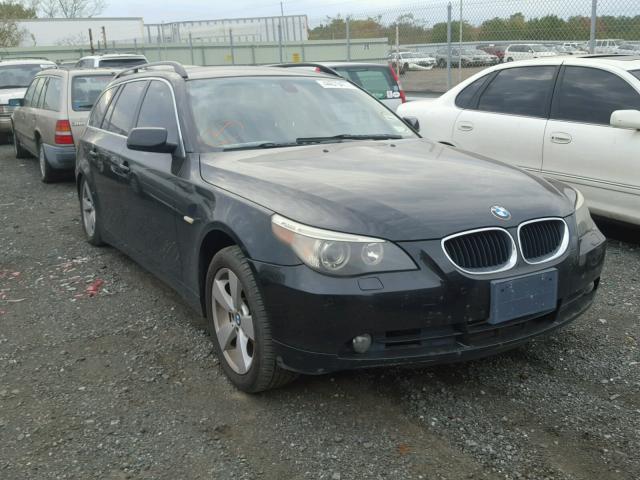 WBANN73586CN00726 - 2006 BMW 530 XIT BLACK photo 1