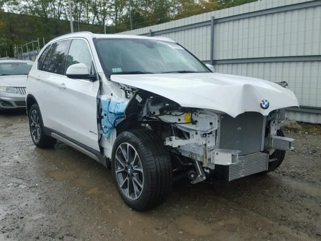 5UXKR0C50H0U50957 - 2017 BMW X5 XDRIVE3 WHITE photo 1
