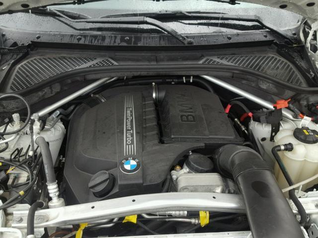 5UXKR0C50H0U50957 - 2017 BMW X5 XDRIVE3 WHITE photo 7