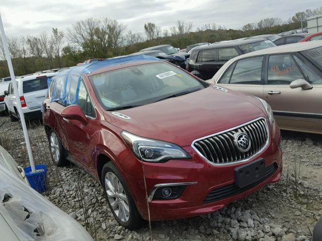 LRBFXESX9HD103191 - 2017 BUICK ENVISION P RED photo 1