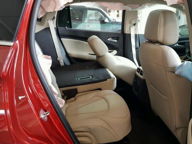 LRBFXESX9HD103191 - 2017 BUICK ENVISION P RED photo 6