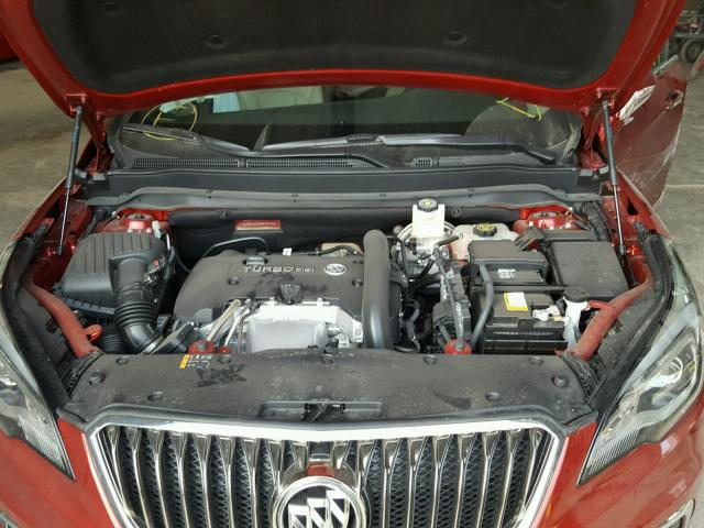 LRBFXESX9HD103191 - 2017 BUICK ENVISION P RED photo 7