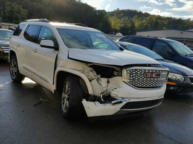 1GKKNXLS0HZ129917 - 2017 GMC ACADIA DEN WHITE photo 1
