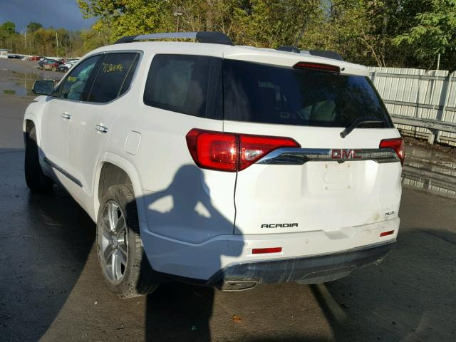 1GKKNXLS0HZ129917 - 2017 GMC ACADIA DEN WHITE photo 3