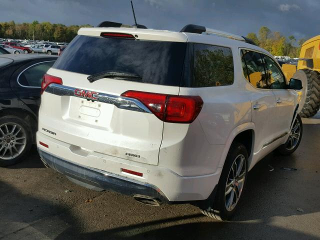 1GKKNXLS0HZ129917 - 2017 GMC ACADIA DEN WHITE photo 4