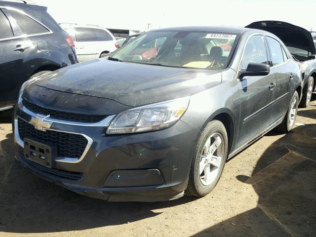 1G11A5SL2FF282629 - 2015 CHEVROLET MALIBU LS BLACK photo 2