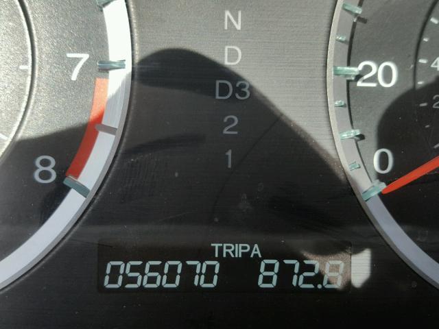 1HGCP2F89BA097280 - 2011 HONDA ACCORD SILVER photo 8