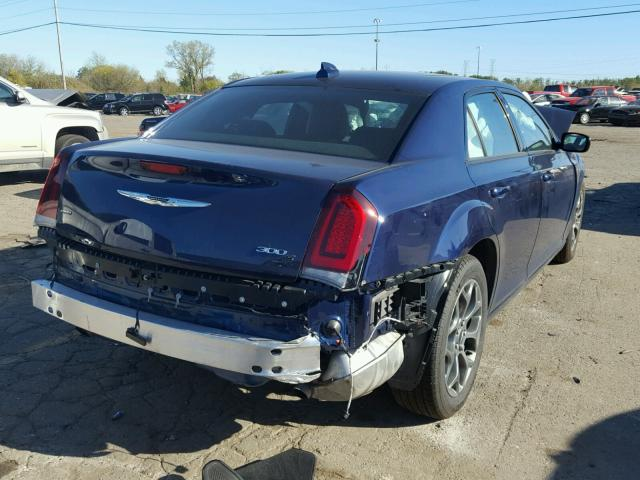 2C3CCAGG5HH585974 - 2017 CHRYSLER 300 BLUE photo 4