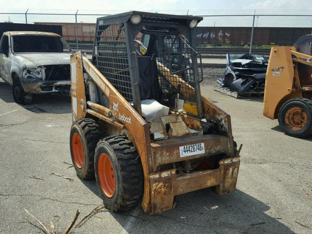 5019M11509 - 1984 BOBCAT 743 WHITE photo 1
