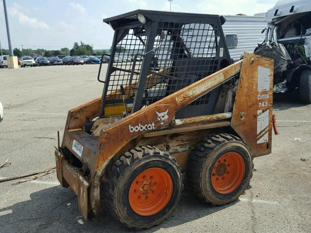 5019M11509 - 1984 BOBCAT 743 WHITE photo 9