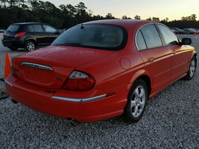SAJDA01CXYFL44081   2000 JAGUAR S TYPE RED Photo 4