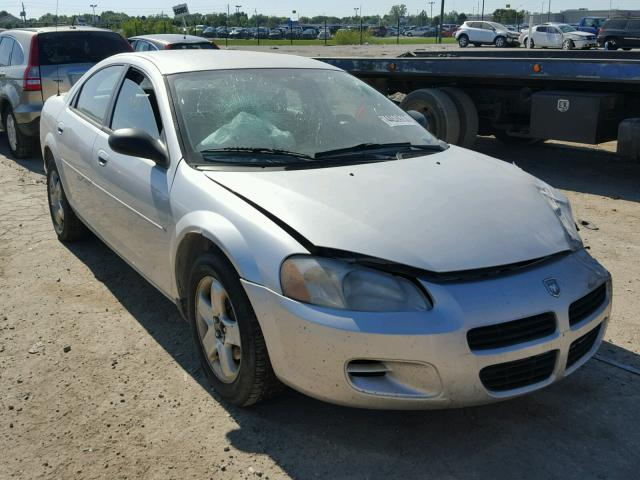 1B3EL46X23N501196 - 2003 DODGE STRATUS SE SILVER photo 1