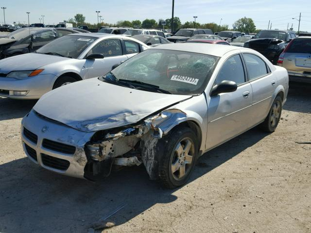 1B3EL46X23N501196 - 2003 DODGE STRATUS SE SILVER photo 2