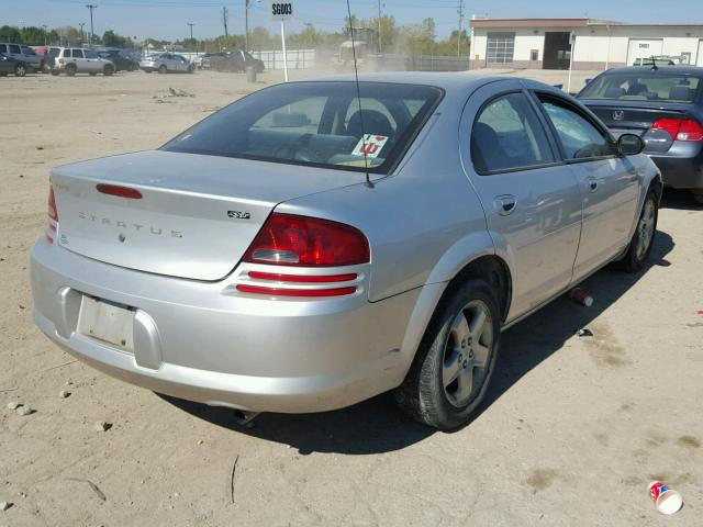1B3EL46X23N501196 - 2003 DODGE STRATUS SE SILVER photo 4