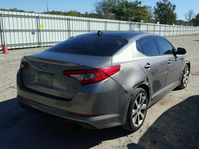 5XXGR4A67CG066692   2012 KIA OPTIMA SX SILVER Photo 4