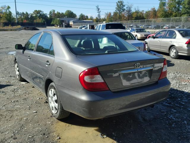 4T1BE32K94U870799 - 2004 TOYOTA CAMRY LE SILVER photo 3