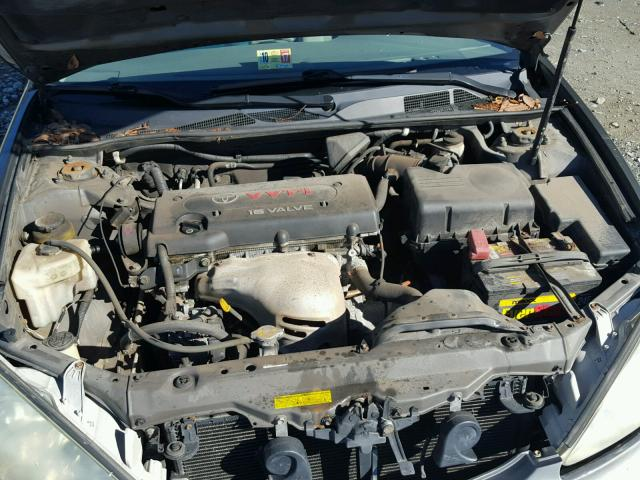 4T1BE32K94U870799 - 2004 TOYOTA CAMRY LE SILVER photo 7
