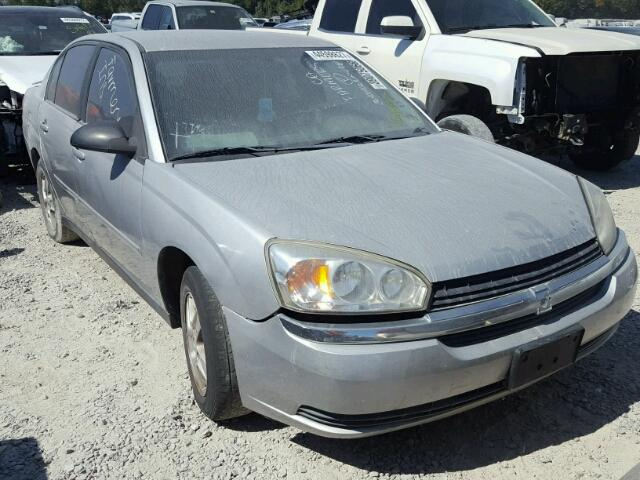 1G1ZT52855F278663 - 2005 CHEVROLET MALIBU LS SILVER photo 1