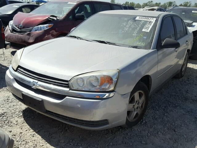 1G1ZT52855F278663 - 2005 CHEVROLET MALIBU LS SILVER photo 2