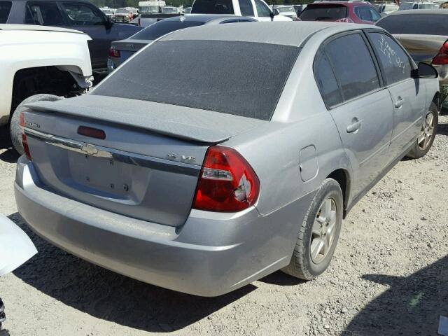 1G1ZT52855F278663 - 2005 CHEVROLET MALIBU LS SILVER photo 4