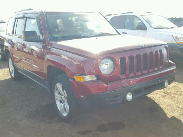 2014 JEEP PATRIOT LA, RED, 1C4NJRFB3ED501948 -, price history, history of  past auctions