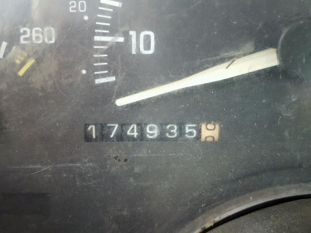 1GBKC34F2RJ115792 - 1994 CHEVROLET GMT-400 C3 WHITE photo 8