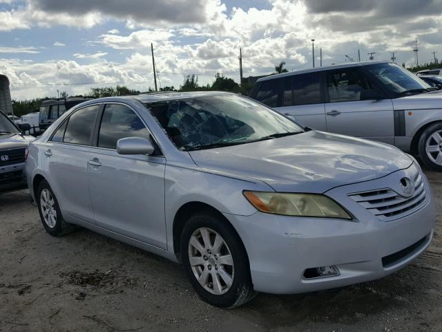 4T1BE46K67U510801 - 2007 TOYOTA CAMRY NEW SILVER photo 1