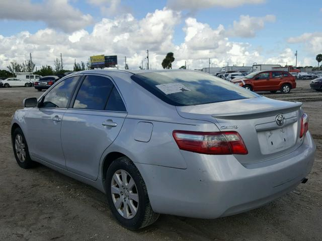 4T1BE46K67U510801 - 2007 TOYOTA CAMRY NEW SILVER photo 3