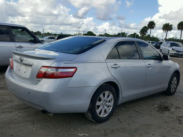 4T1BE46K67U510801 - 2007 TOYOTA CAMRY NEW SILVER photo 4