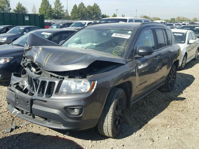1C4NJCBAXFD263544 - 2015 JEEP COMPASS SP GRAY photo 2