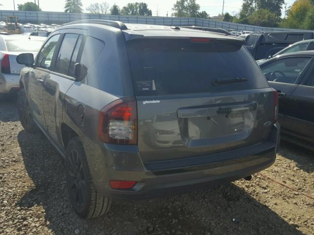 1C4NJCBAXFD263544 - 2015 JEEP COMPASS SP GRAY photo 3