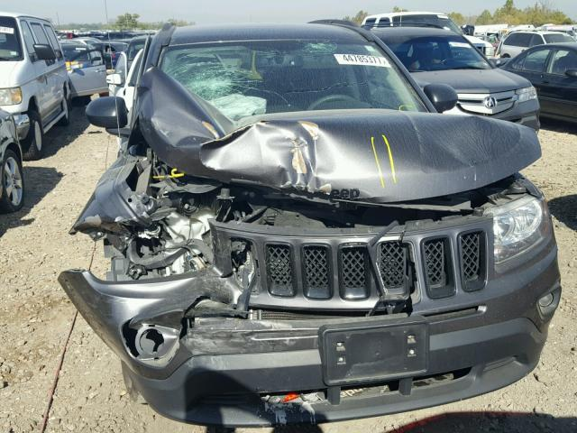 1C4NJCBAXFD263544 - 2015 JEEP COMPASS SP GRAY photo 7