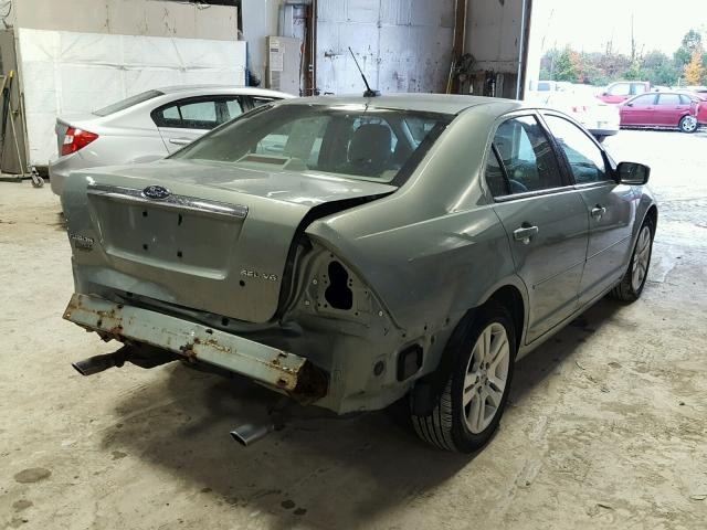 3FAHP08129R149931 - 2009 FORD FUSION SEL GREEN photo 4