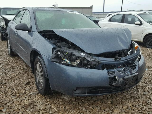 1G2ZG528954167142 - 2005 PONTIAC G6 BLUE photo 1