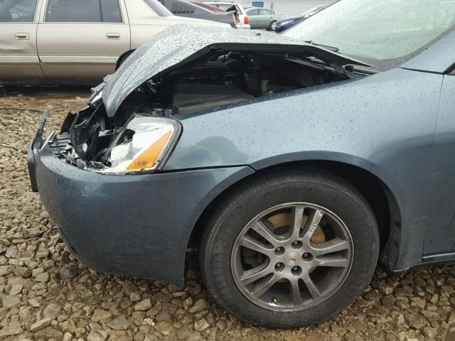 1G2ZG528954167142 - 2005 PONTIAC G6 BLUE photo 9