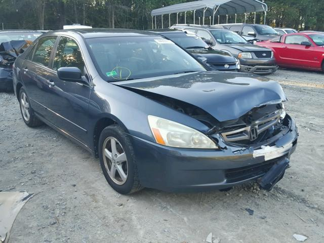 1HGCM56895A039863 - 2005 HONDA ACCORD EX GRAY photo 1