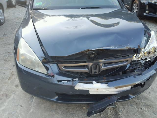 1HGCM56895A039863 - 2005 HONDA ACCORD EX GRAY photo 9