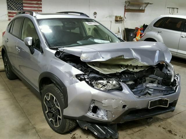 JF2GPALC5GH212315 - 2016 SUBARU CROSSTREK SILVER photo 1