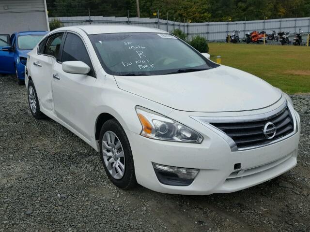 1n4al3apxdn573009 2013 Nissan Altima 25 White Price History