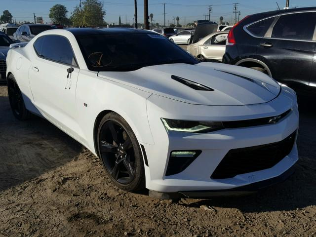 1G1FG1R75G0130144 - 2016 CHEVROLET CAMARO WHITE photo 1