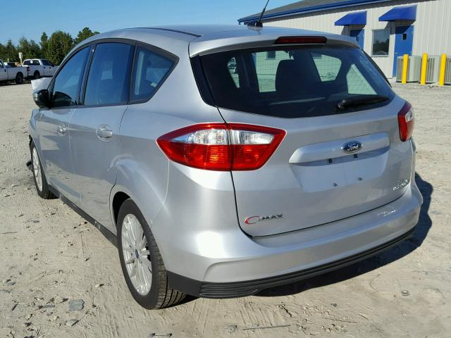1FADP5AU5GL114568 - 2016 FORD C-MAX SILVER photo 3