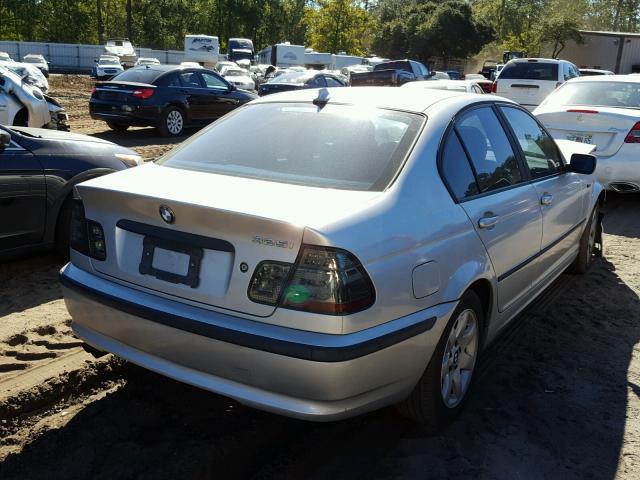 WBAET37443NJ23151 - 2003 BMW 325 I SILVER photo 4
