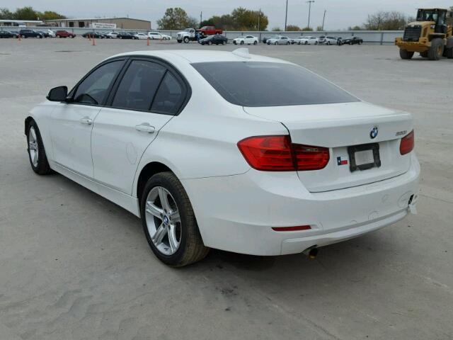 WBA3B1C58EK130931 - 2014 BMW 320 I WHITE photo 3