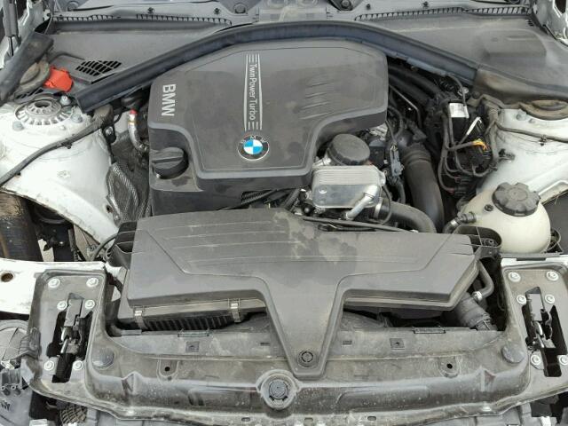 WBA3B1C58EK130931 - 2014 BMW 320 I WHITE photo 7